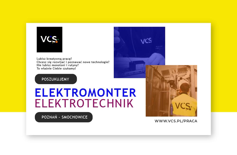 Oferta pracy – elektromonter/elektrotechnik